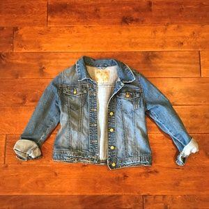 Girls Children's Place Jean/Denim Jacket Size L
